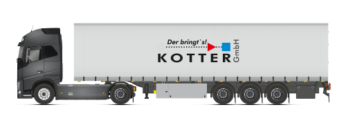 spedition kotter mega trailer